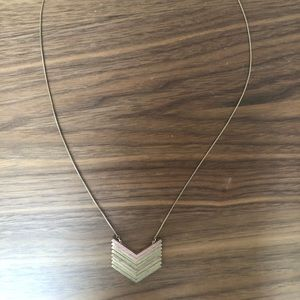"""Madewell """"Arrowstack"""" Necklace"""